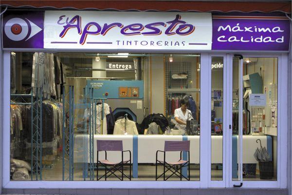 imagen de la fachada de la tienda